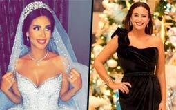 هند صبري تهنئ ساندي التونسية بزواجها