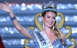 بالصور- إسبانيا تفوز بلقب ملكة جمال العالم.. واللبنانية فاليري أبو شقرا في المركز الرابع