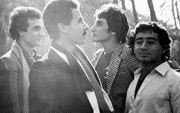 في عام 1984.. صورة جديدة لرجل الأعمال أحمد عز بفرقة طيبة