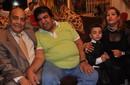 بالصور.. عدوية يحيي عيد ميلاد شقيق تامر حسني