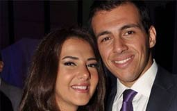 رسالة رومانسية من دنيا سمير غانم إلى رامي رضوان في عيد ميلاده