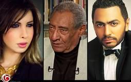 كيف نعى هاني شاكر ونانسي عجرم وتامر حسني عبد الرحمن الأبنودي؟