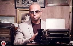 """أحمد مراد مؤلف """"الفيل الأزرق"""""""