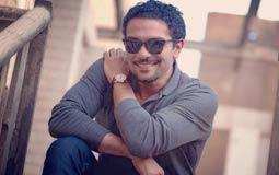 """بالفيديو- آسر ياسين يكشف عن تحضيراته لفيلم """"تراب الماس"""" وآلة الدرامز"""