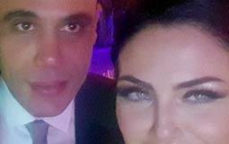 بالفيديو- دارين حداد ترقص مع محمد إمام في حفل زفاف أصدقائهما