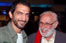 جورج إسحاق مع عمرو واكد في الشتا اللي فات