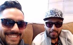 بالفيديو- حسن الشافعي يحكي عن موقف مضحك مع أحمد فهمي على الطائرة