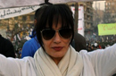 شيريهان في الميدان تحيي ذكرى ثورة يناير بنفس مطالبها