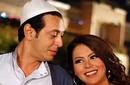 مصطفى شعبان ولقاء الخميسي في لقطة من المسلسل