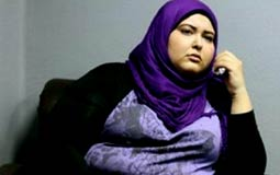 الممثلة دعاء رجب اشتهرت بخفة ظلها ووزنها الزائد