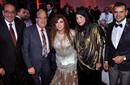 سامو زين برفقة فيفي عبده وحسن حسني وزوجته