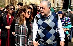 ابنة محمد متولي وأشرف زكي