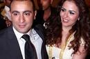 إبراهيم الآبيض_احمد السقا وزوجته