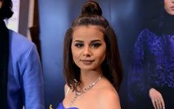 منة عرفة أثناء حضورها لحفل تكريمي