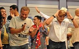 في سبتمر 2016 فوجئ الممثل أشرف عبد الباقي بحضور مجموعة من أصدقائه العرض ليحتفلوا بعيد مولده.