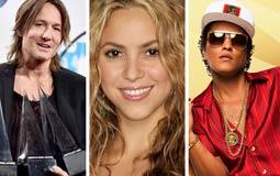 جوائز الموسيقى الأمريكية- برونو مارس يتصدر القائمة وDespacito الأفضل في 2017