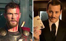 الإيرادات الأمريكية- الجزء الثالث من Thor يتجاوز نصف مليار دولار.. جوني ديب ينافس بقوة