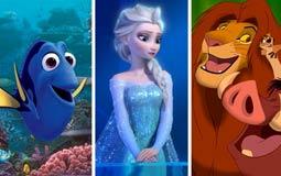 10 أفلام رسوم متحركة حققت أعلى إيرادات في التاريخ