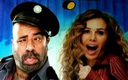 """محمد سعد في بوستر فيلم """"حياتي مبهدلة"""""""