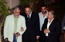 محمود ياسين في عزاء خليل مرسي