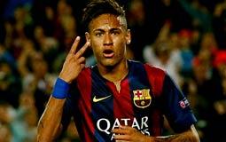"""نجم فريق برشلونة نيمار ضيف حلقة """"YES, I AM FAMOUS"""" الليلة"""