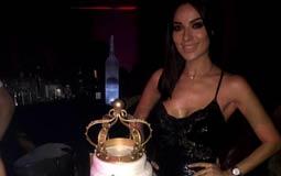 نادين نسيب نجيم تحتفل بعيد ميلادها