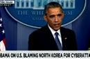 """بالفيديو- أوباما يتهم كوريا الشمالية بالتورط في """"قرصنة سوني"""".. وكوريا ترد"""