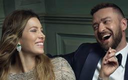 المغني جستن تمبرليك وزوجته الممثل جيسيكا بيل