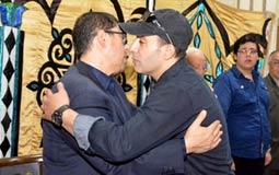 أحمد السقا يواسي وائل عبد الله
