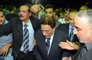 بالصور: عادل إمام ومحمود عبد العزيز على رأس حضور عزاء سعيد صالح
