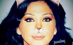 إليسا  نشرت الفنانة إليسا صورة لها بعد أن تم إدخال تعديلات عليها بواسطة أحد تطبيقات الهواتف الذكية لتظهر كالقطة.
