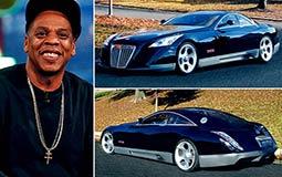 يمتلك مغني الراب الأمريكي جاي زي سيارة رياضية نادرة من طراز Maybach Exelero وتقدر بنحو 8 مليون دولار.