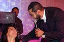 بالصور: تامر حسني يغني مع جمهوره في ديترويت