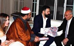 هكذا هنأ المشاهير تيم حسن ووفاء الكيلاني بزواجهما