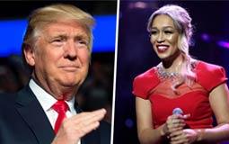هذا شرط ريبيكا فيرجسون لقبول دعوة الغناء في حفل تنصيب ترامب
