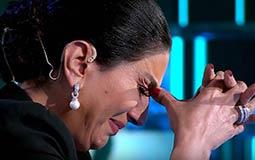 """فيديو- وفاء عامر تبكي أمام """"البرنس"""""""