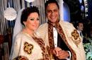 بالصور- سميرة سعيد وحميد الشاعري ومصطفى قمر وتامر عاشور في زفاف أمير محروس