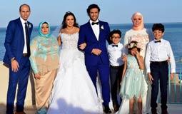 أشهر عروس في 2016 كانت إيمي سمير غانم مع حسن الرداد، وأقيم حفل زفافهما في 4 نوفمبر