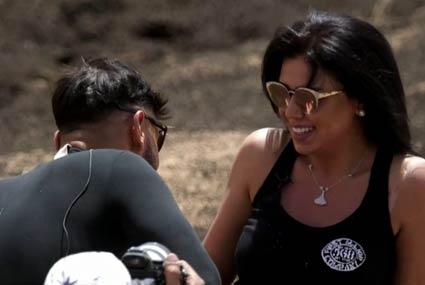 """شاهد- صدمة وذهول رانيا يوسف في الحلقة الأخيرة من """"رامز تحت الأرض"""""""