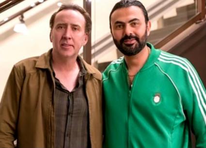 عمرو وهبة يعلق على صورة محمد كريم مع نيكولاس كيج