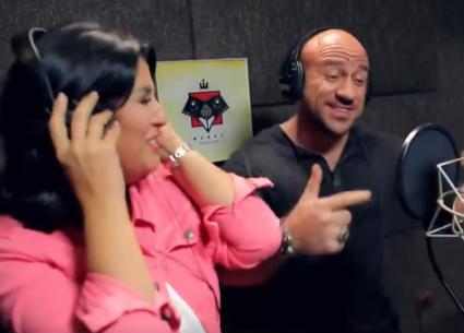 منى الشاذلي في أغنية راب مع أحمد مكي
