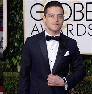 شاهد لحظة فوز رامي مالك بجائزة جولدن جلوب أفضل ممثل