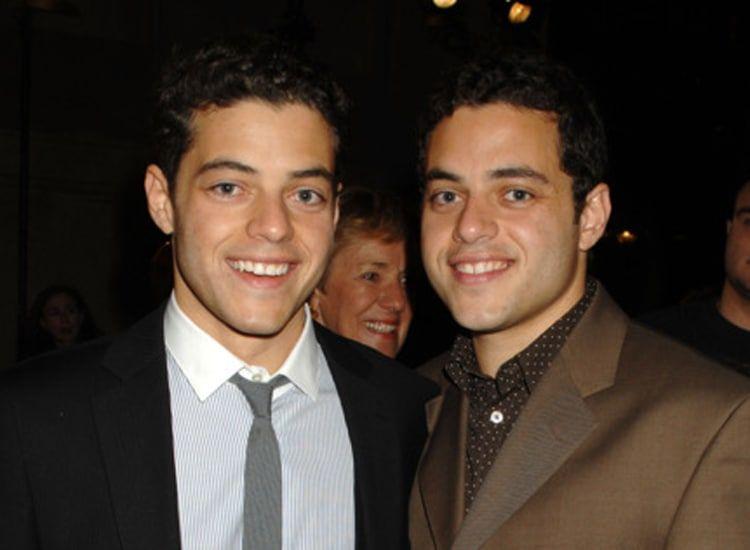 رامي مالك يتجاوز اختبارت شقيقه التوأم  بدلا منه في الجامعة