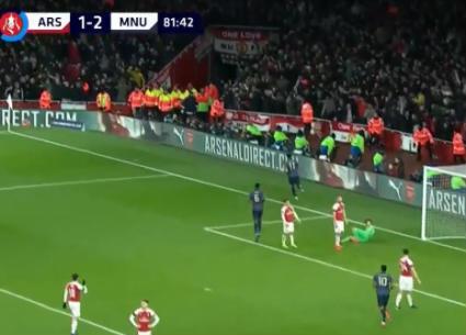 شاهد أهداف فوز مانشستر يونايتد على أرسنال 3-1