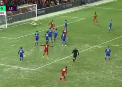 هدفا تعادل ليفربول وليستر سيتي 1-1