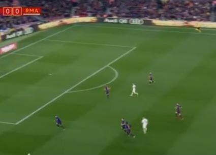 هدفا تعادل برشلونة وريال مدريد 1-1