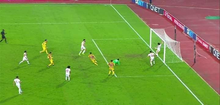 شاهد أهداف تعادل الزمالك مع نصر حسين داي 1/1 في بطولة الكونفدرالية