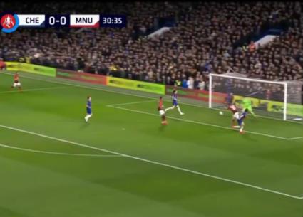"""هدفا فوز مانشستر يونايتد على تشيلسي 2-0 """"كأس الاتحاد الإنجليزي"""""""