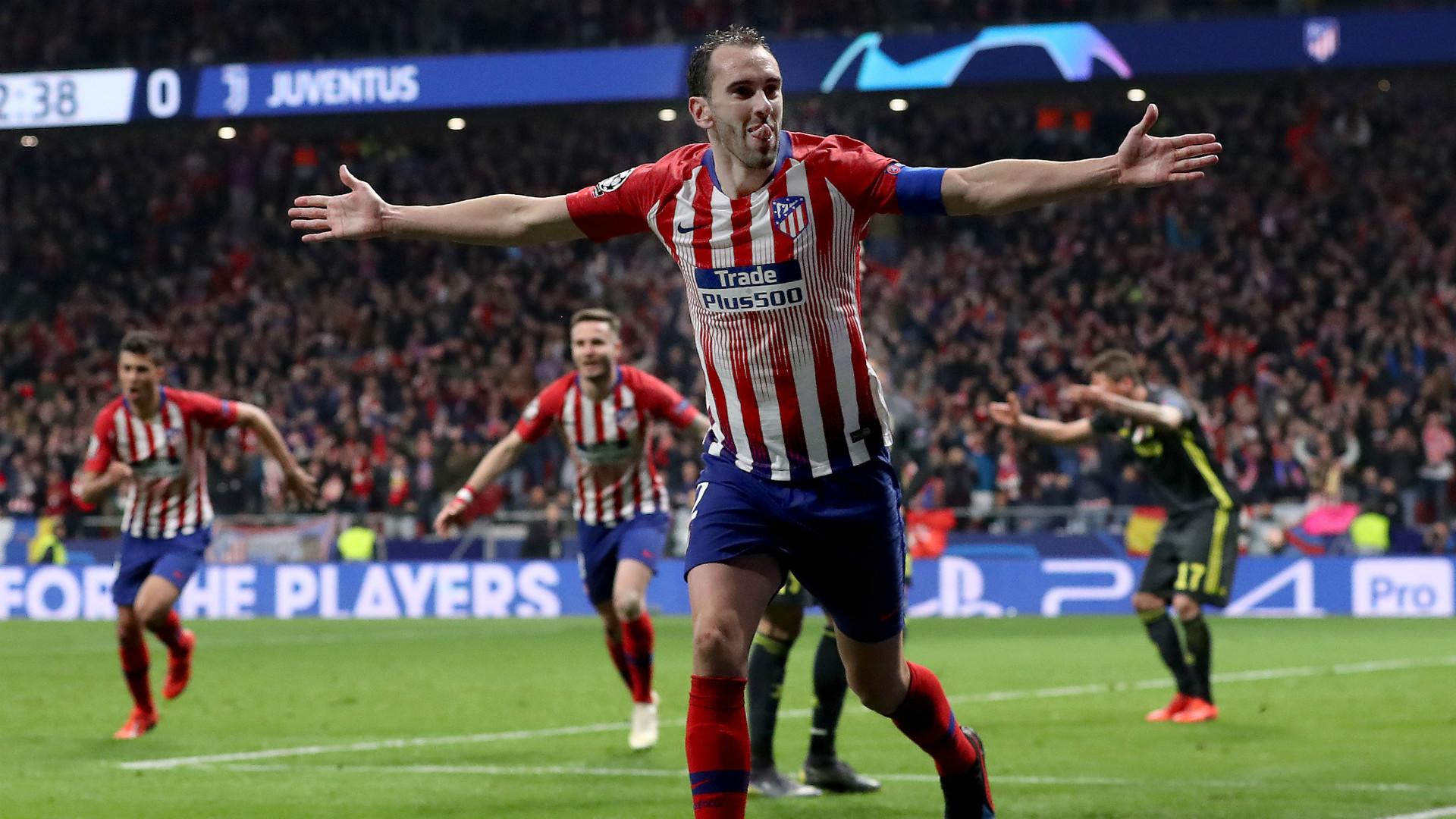 شاهد أهداف فوز أتليتكو مدريد على يوفنتوس 0/2 في دوري أبطال أوروبا