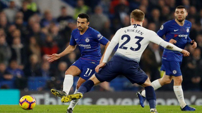 شاهد أهداف فوز تشيلسي على توتنهام 0/2 في الدوري الإنجليزي